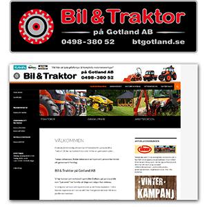 Bil & Traktor på Gotland