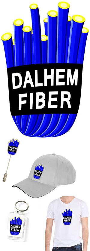 Dalhem Fiber logga